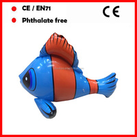 PVC inflatable fish toys for kids
