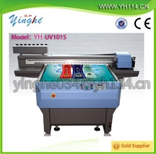 2015 UV flatbed printer double printhead DX5 DX7 digital fabric printing machine