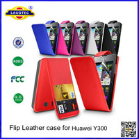 Flip leather Cover case for huawei ascend u8833 y300--Laudtec