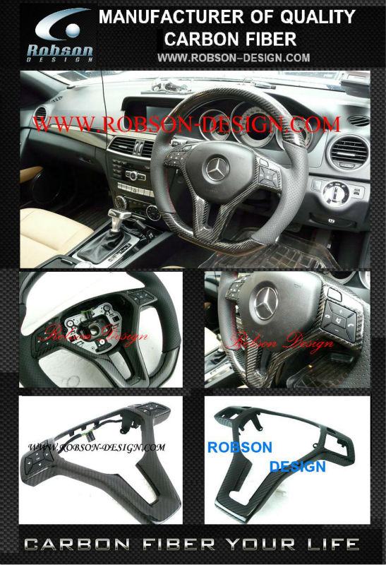 Y COVER carbon fiber steering wheel