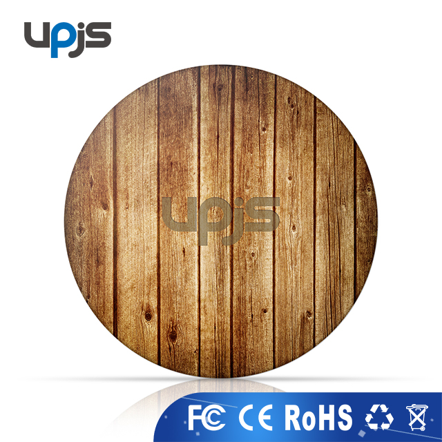 2018 trending hot sales Qi Standard Wood Wireless Charger for Smartphones,Wireless Charging Pad wholesale alibaba.com