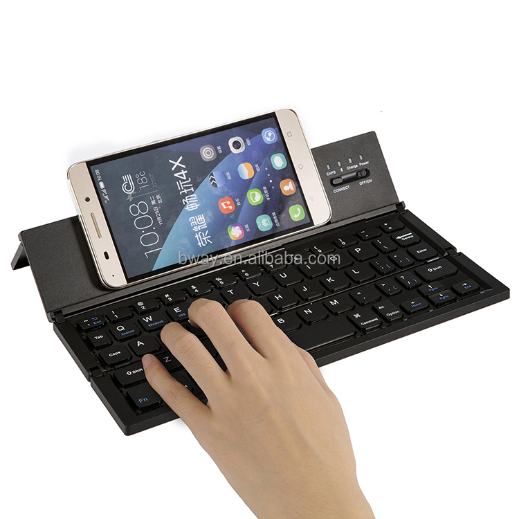 on-the-go solution to smartphone typing Latest portable foldable Wireless keyboard for Ipad