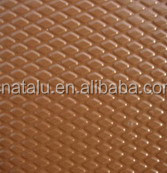embossed diamond embossed color coated aluminium coil/sheet