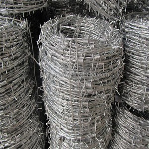 Anping factory direct sale 300m per roll price barbed wire