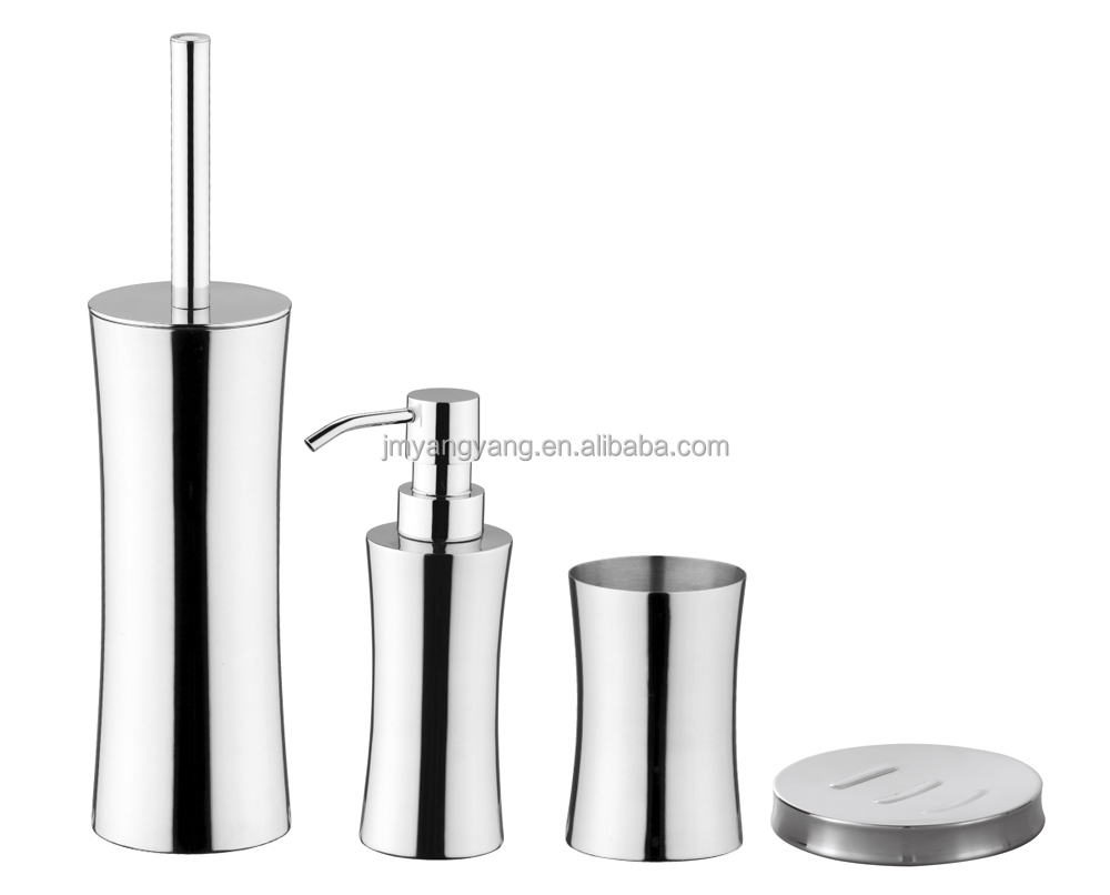 Black grey bathroom accessories home decor for Grey bathroom accessories set
