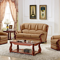 Modern Design Luxury Leather Sofa Set