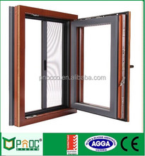Top suspension tilt and turn upvc casement window CW286