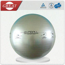 Eco-friendly PVC anti-burst exercise Yoga Ball with special logo