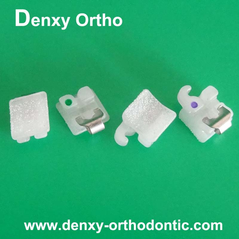 Orthodontic materials dental brackets ceramic/lingual/metal and self-ligating brackets