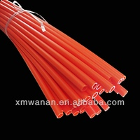 15-20mm Red colored Flexible PVC pipe cheap price