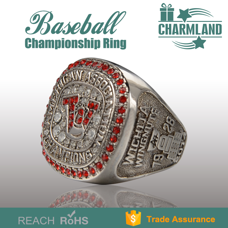 Custom usssa baseball championship rings for men