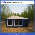 2017 Campig house folding 4x4 camper trailers for sale high quality