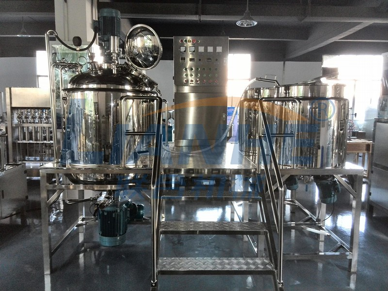 High Quality Lotion Mixer Vacuum Homogeneous Emulsifying Machine