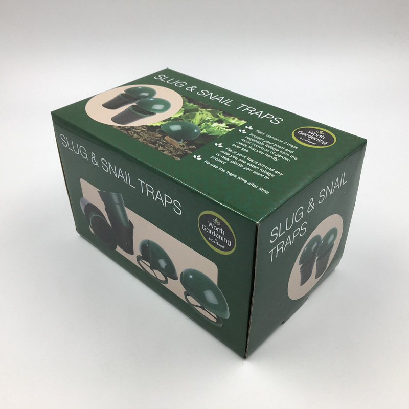 High quality olive green foldable corrugated paper gift box