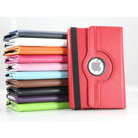 Rotation leather phone case for ipad mini