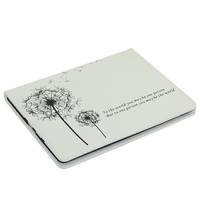 Dandelion Pattern PU Leather Wallet Book Flip Protective Skin Case for iPad 5, wallet leather case