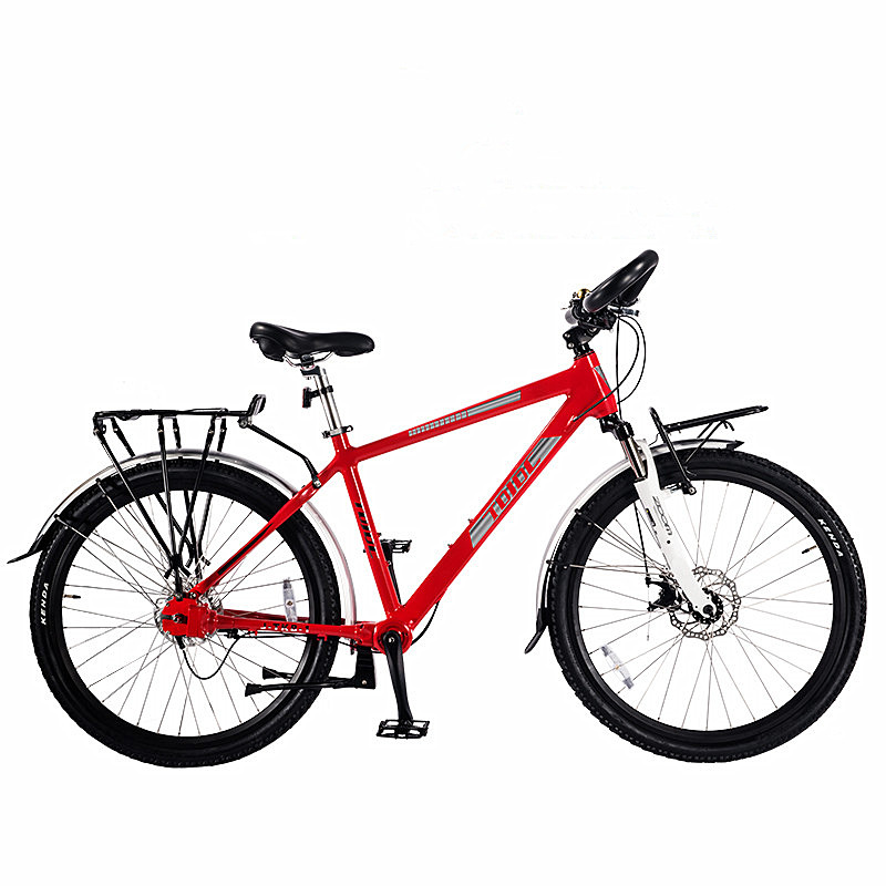TDJDC Expedition 1 red touring <strong>bike</strong>