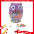 3g Fruity Owl Bubble Gum with Tattoo