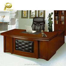 Luxury wooden furniture set MDF executive office desk in penang