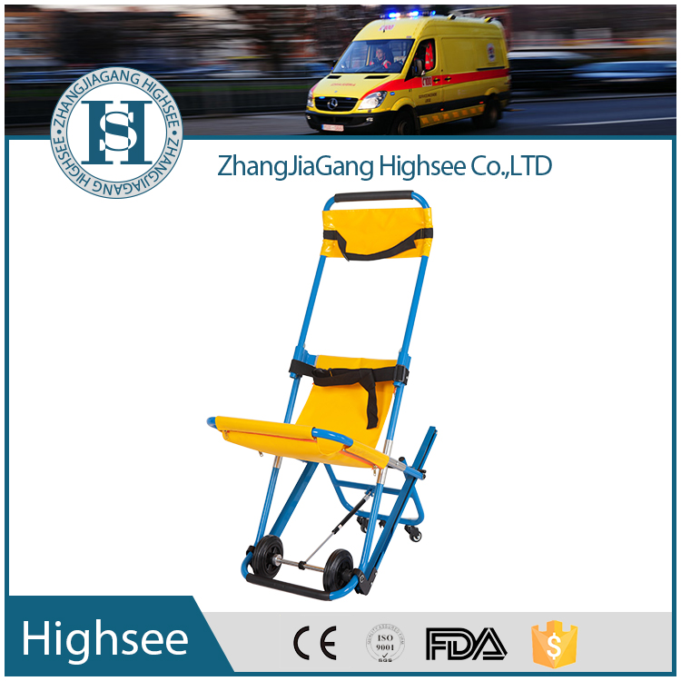 robust emergency stair transit evacuation chair/slider stretcher