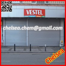 Industrial heavy duty metal roll up security door for warehouse