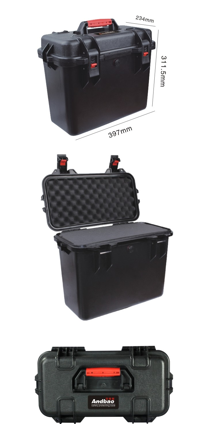 ABS Plastic Crushproof safety case