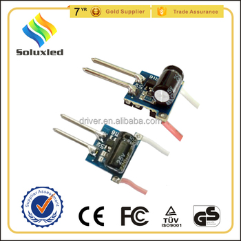 12v dc to 12v dc 1-3x1w led driver