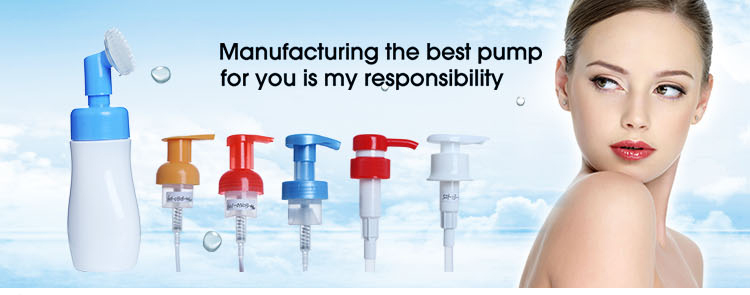 china wholesale liquid soap lotion pump , twist pump