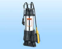 2015 New design high quality V750F float switch submersible sewage pump self priming water pump