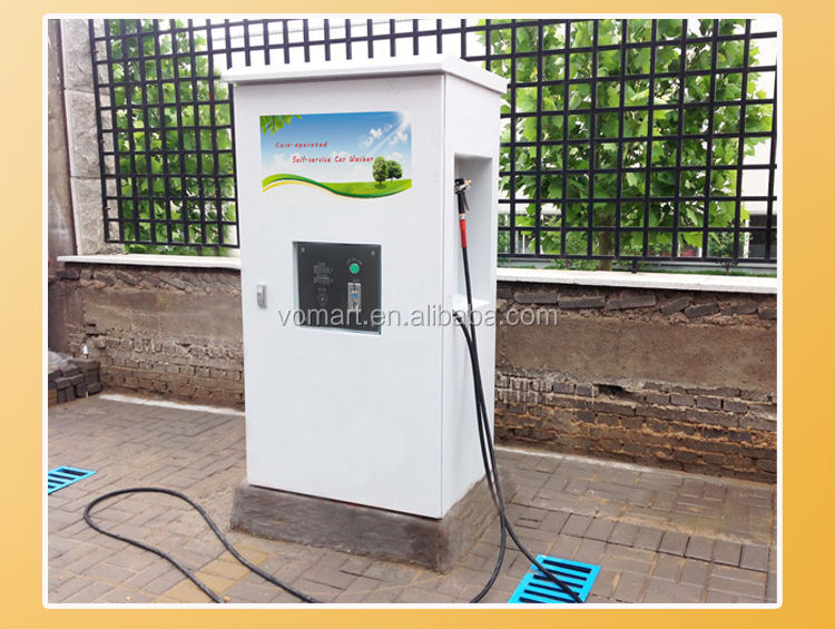 Automatic Coin Card Operated High Pressure Car Wash Self Service