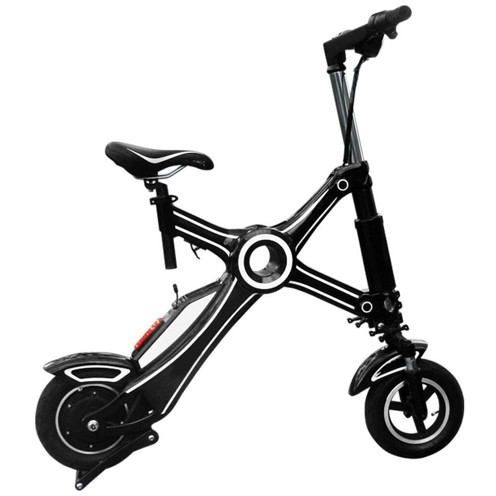 Fashionable 10 inch small electric folding scooter for for Small motor scooters for sale