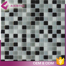 Kitchen Wall Mixed Colored Mosaic Tiles for Bathroom Floor
