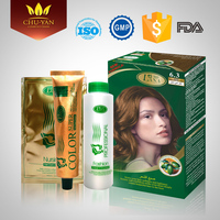 Professional GMPC FDA approved glitter permanent bulk hair dye color