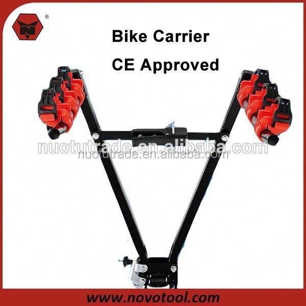 NOVOTOOL CE Approved 72*43*23Cm High Standard 3 Bicycle Bike Rack Carrier