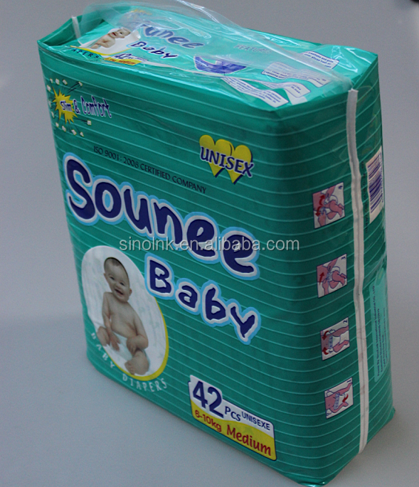 sounee baby baby diapers 42pcs 6-10kg medium