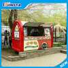 Mini stainless steel hot dog mobile fast food van truck for sale in china
