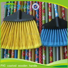 China online shopping 110*2.2cm 120*2.5cm pvc coated wooden handle broom