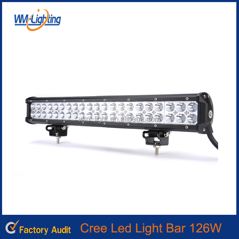 20inch 126W LED Bar Car working light Automobile car dome light Off-road lights bar