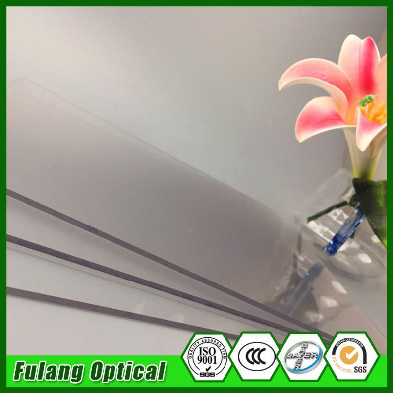 Semi Transparent Polycarbonate Solid Sheet Price Hard Transparent Colored Plastic Sheets