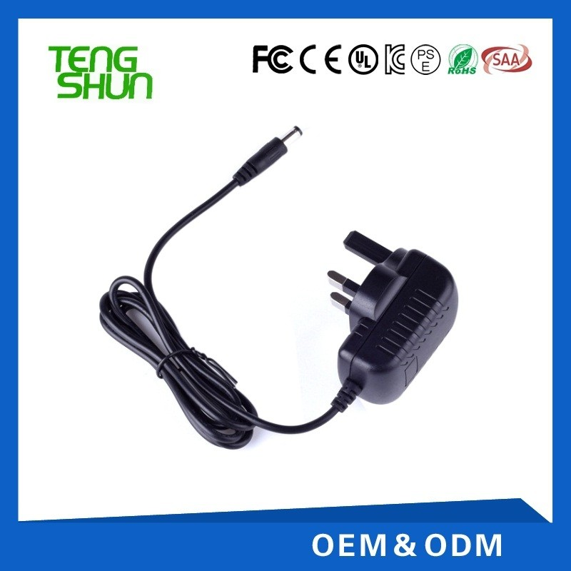 cheap ce ul listed cctv 12v 1a wall mount switching power supply for cctv camera