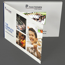 "Top Quality a4 a5 fold Video Postcard 4.3"" 5"" 7"" 10"" Lcd Video Brochure Card sd CARD"