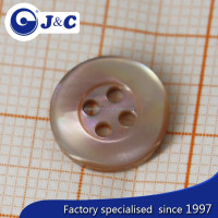 2015 fashion brown MOP shell button