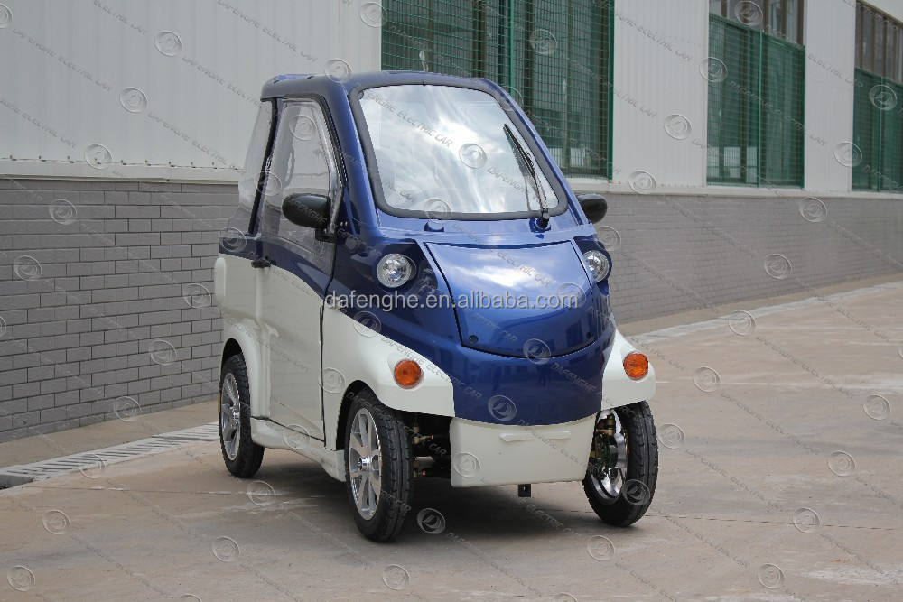 2 seats EEC Approval electric automobiles