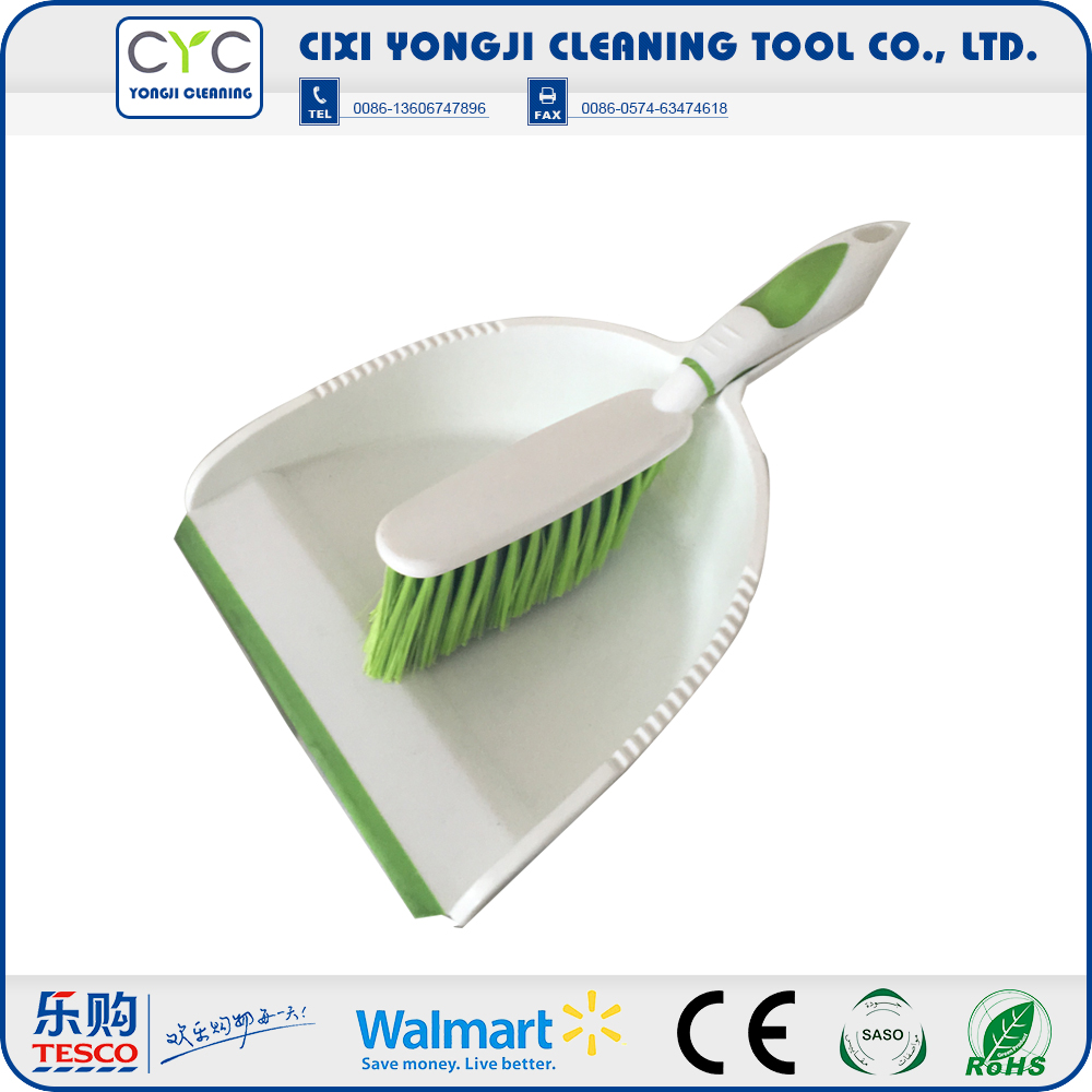 Portable Easy Cleaning plastic dustpan brush for home