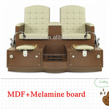 newly design MDF nail salon furniture