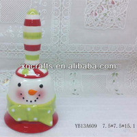 Hand made ceramic wedding bells for made in china