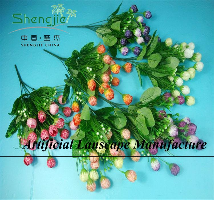 SJYBH31 ARTIFICIAL FABRIC/POLYESTER/NYLON TULIP FLOWERS FOR EXTERIOR/INTERIOR DECORATION