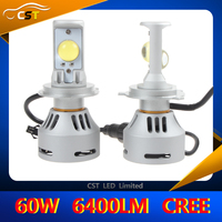 2016 High power CST 6G H13 led headlamp 6400LM 40W car led bulb