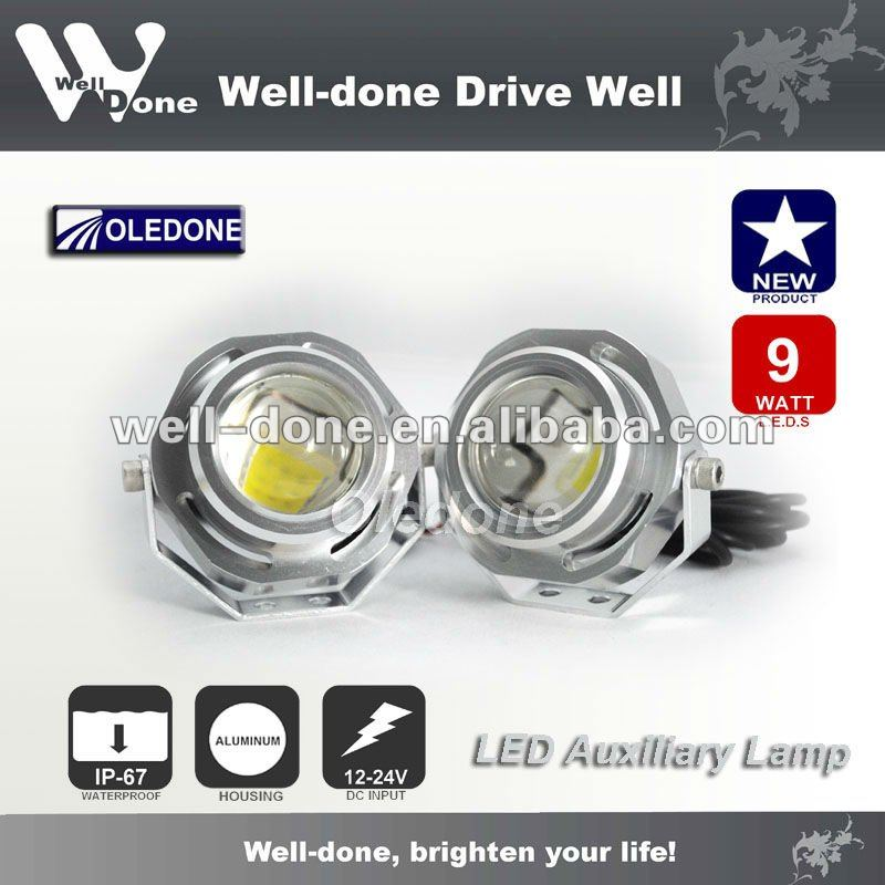 LED auxiliary light, LED DRL, LED fog light, WD-1L09.