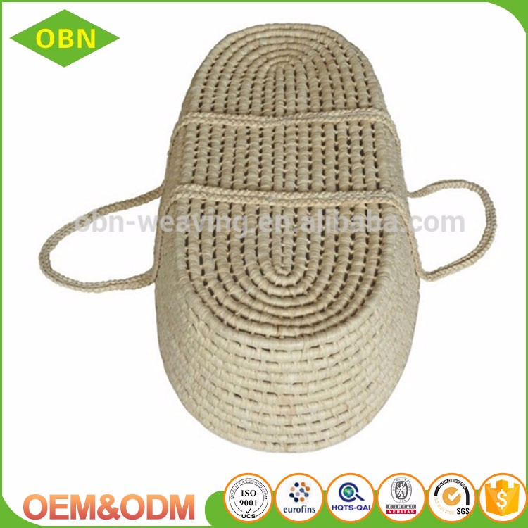 Basket Weaving Supply Companies : Wholesale pure handmade durable straw weaving bassinet